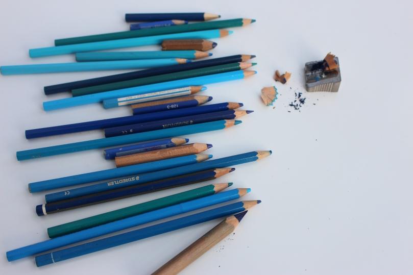 blaue stifte 1